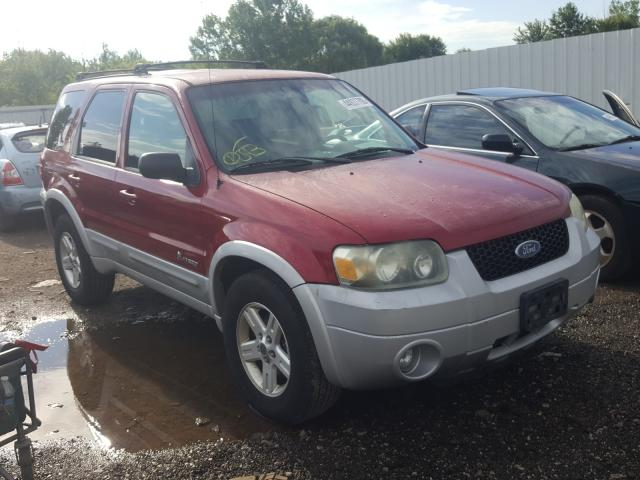 Ford salvage cars for sale: 2006 Ford Escape HEV
