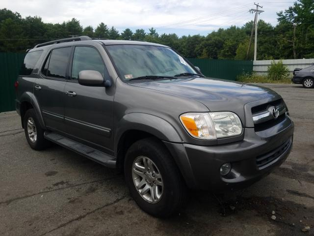 Toyota Sequoia LI salvage cars for sale: 2006 Toyota Sequoia LI