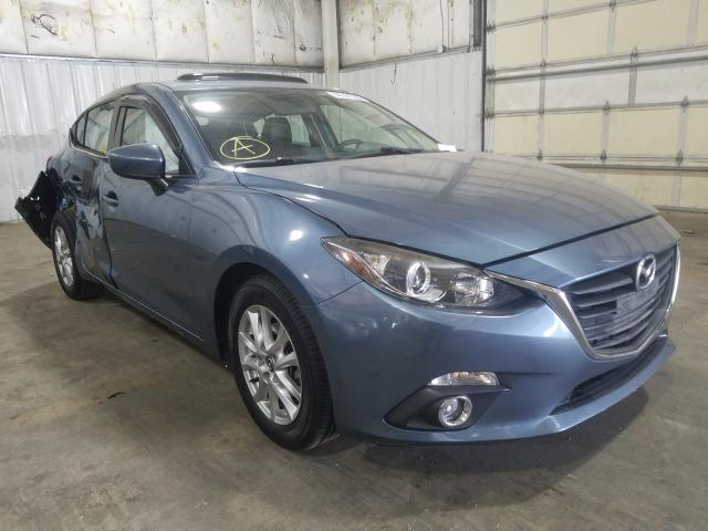 Mazda 3 salvage cars for sale: 2014 Mazda 3