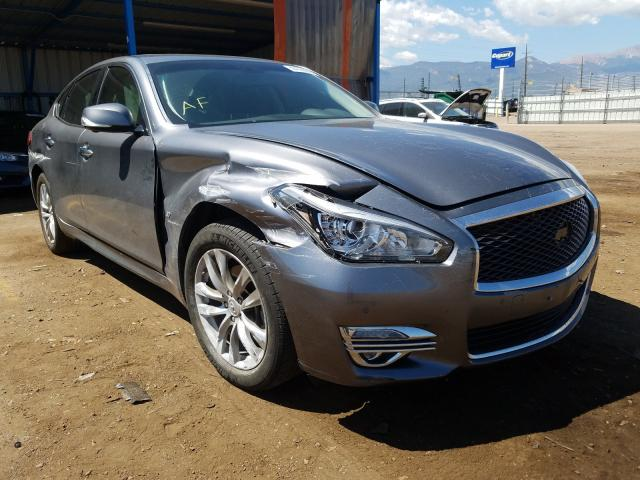 Infiniti salvage cars for sale: 2019 Infiniti Q70 3.7 LU