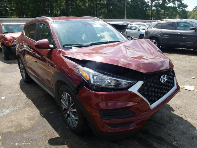 Hyundai Tucson Limited salvage cars for sale: 2019 Hyundai Tucson Limited