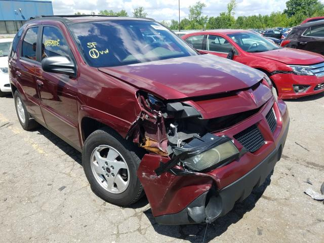 Pontiac Aztek salvage cars for sale: 2002 Pontiac Aztek