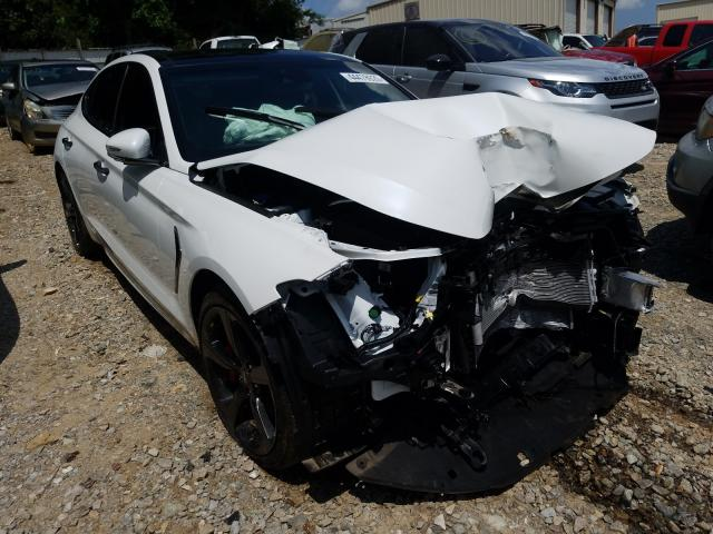 Genesis G70 Prestige salvage cars for sale: 2020 Genesis G70 Prestige