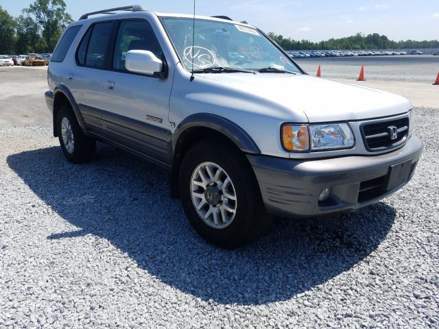 Salvage 2001 Honda PASSPORT E for sale