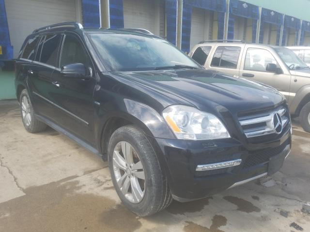 Salvage cars for sale from Copart Columbus, OH: 2012 Mercedes-Benz GL 350 BLU