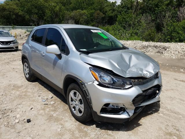 Chevrolet Trax LS salvage cars for sale: 2017 Chevrolet Trax LS