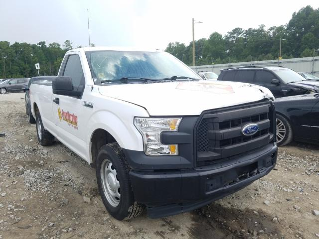 Salvage cars for sale from Copart Ellenwood, GA: 2017 Ford F150
