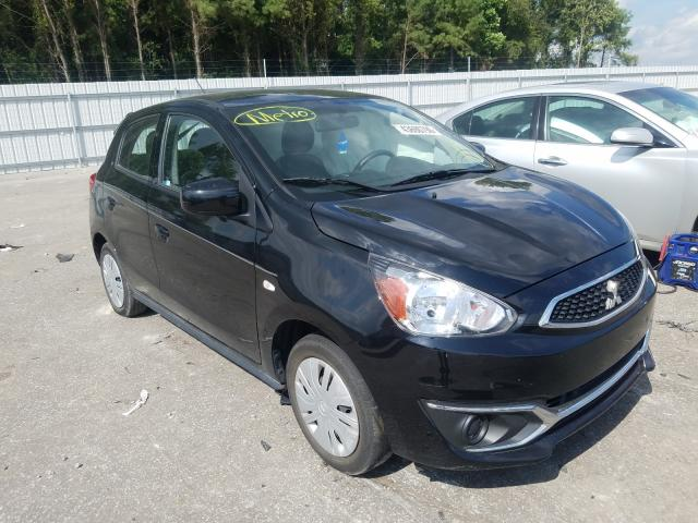 Salvage cars for sale at Dunn, NC auction: 2018 Mitsubishi Mirage ES
