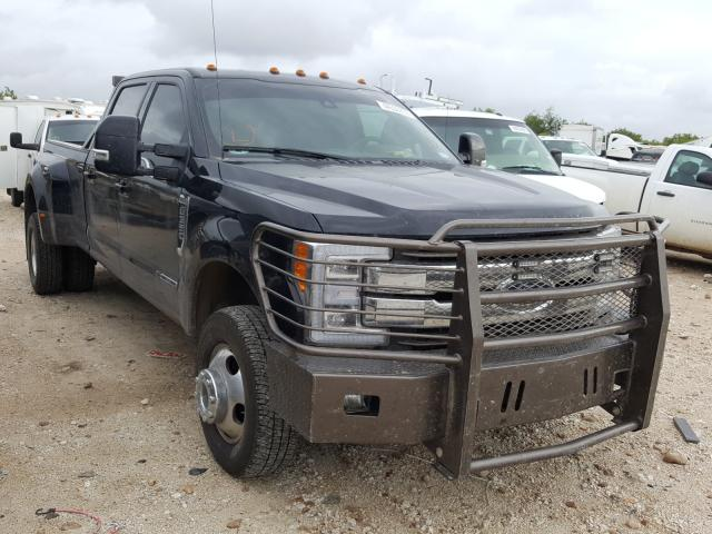 Salvage cars for sale from Copart San Antonio, TX: 2019 Ford F350 Super