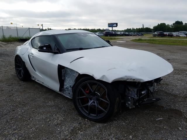 Salvage cars for sale from Copart Cicero, IN: 2020 Toyota Supra Base