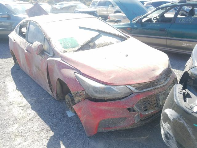 Salvage cars for sale from Copart Reno, NV: 2016 Chevrolet Cruze LT