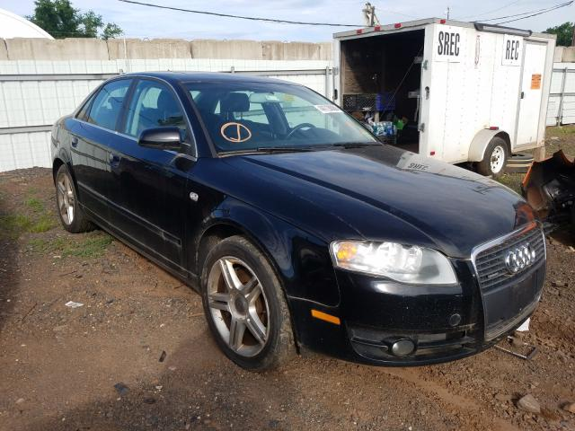 Audi A4 salvage cars for sale: 2007 Audi A4