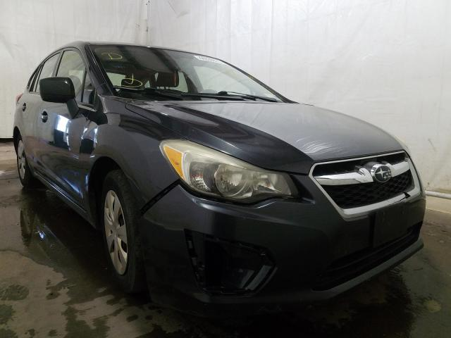 Salvage cars for sale from Copart Central Square, NY: 2012 Subaru Impreza