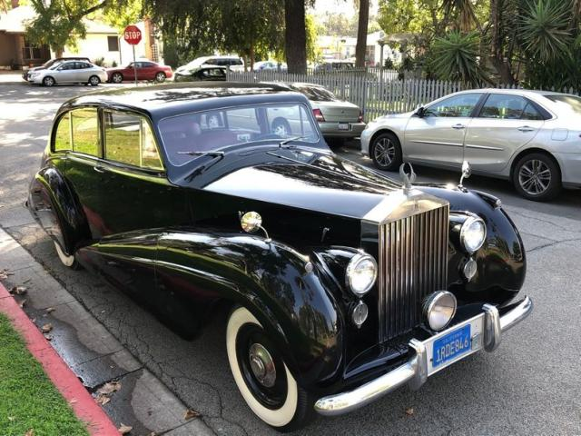 Rolls-Royce salvage cars for sale: 1950 Rolls-Royce Silver WRA