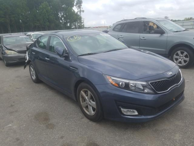 Salvage cars for sale from Copart Dunn, NC: 2015 KIA Optima LX