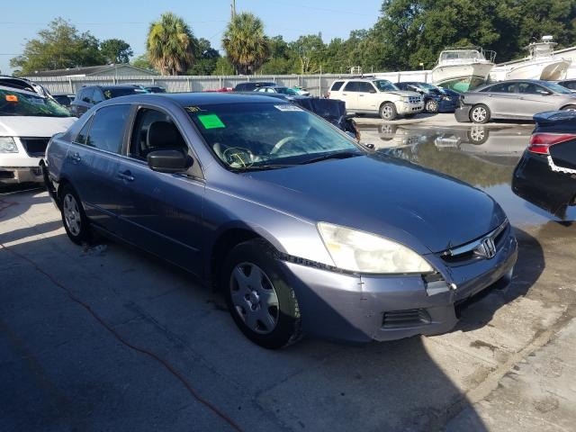 Honda Accord LX salvage cars for sale: 2007 Honda Accord LX