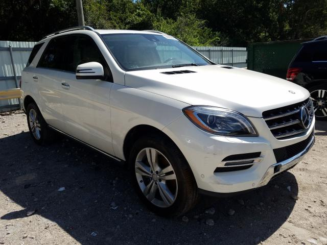 Vehiculos salvage en venta de Copart Riverview, FL: 2013 Mercedes-Benz ML 350 BLU