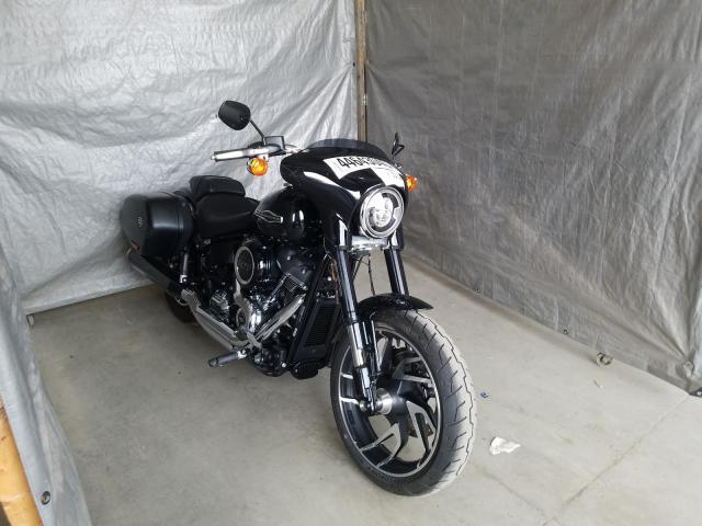 Salvage cars for sale from Copart Duryea, PA: 2019 Harley-Davidson Flsb