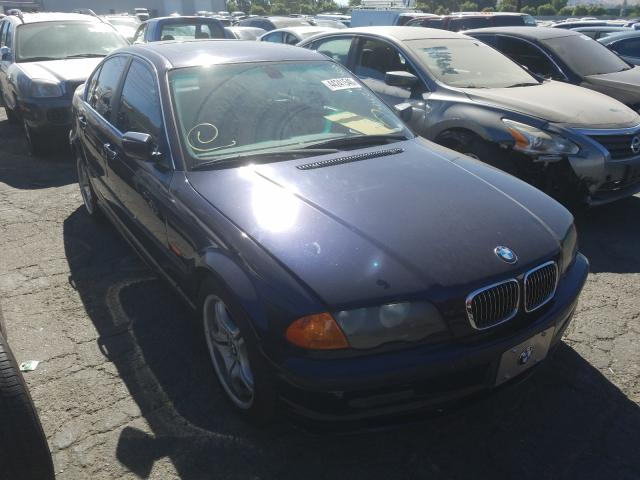 BMW 330 I salvage cars for sale: 2001 BMW 330 I