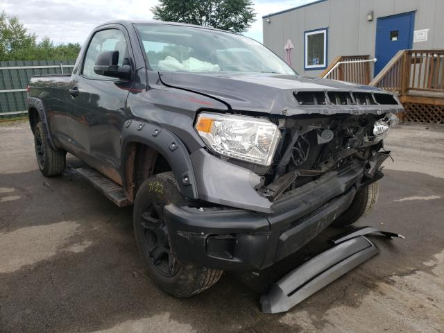 Salvage cars for sale from Copart Duryea, PA: 2014 Toyota Tundra SR
