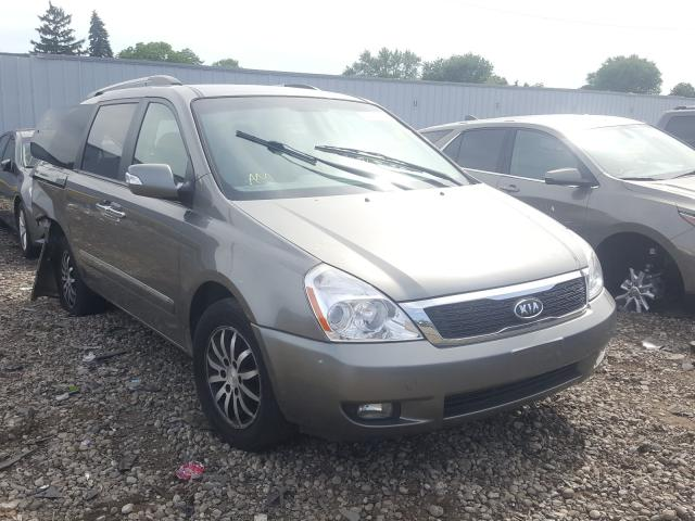 KIA Sedona EX salvage cars for sale: 2011 KIA Sedona EX