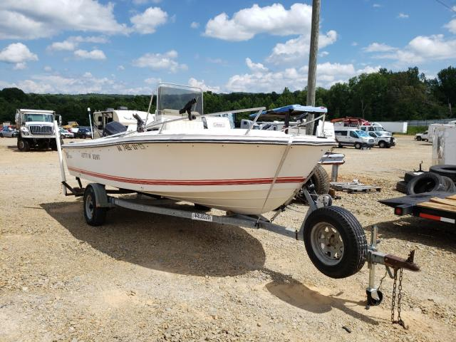 Wells Cargo salvage cars for sale: 1989 Wells Cargo Boat