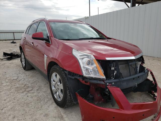 Salvage cars for sale from Copart Temple, TX: 2015 Cadillac SRX Luxury