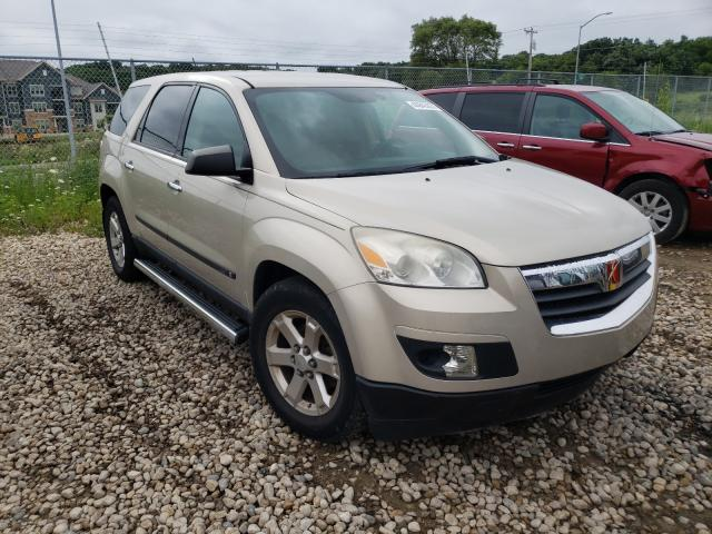Saturn Outlook XE salvage cars for sale: 2008 Saturn Outlook XE