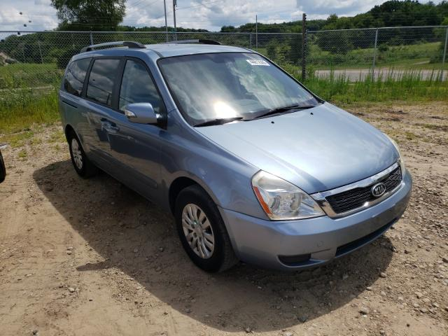 KIA Sedona LX salvage cars for sale: 2011 KIA Sedona LX