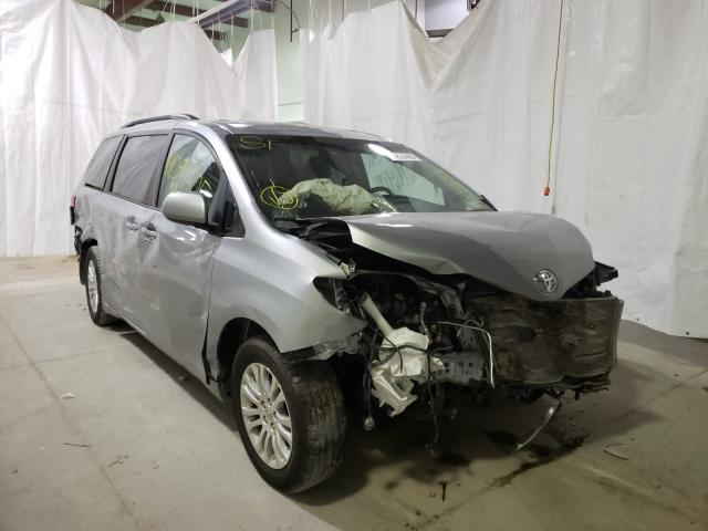 Salvage cars for sale from Copart Leroy, NY: 2015 Toyota Sienna XLE