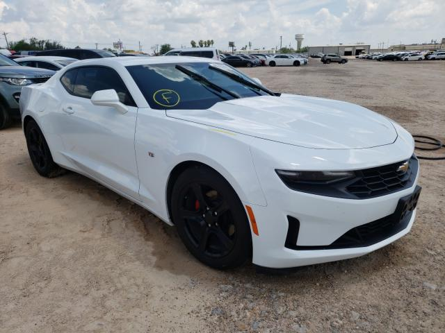 Salvage cars for sale from Copart Mercedes, TX: 2020 Chevrolet Camaro LS