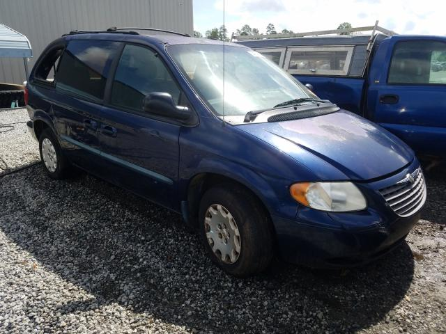 Chrysler Voyager LX salvage cars for sale: 2002 Chrysler Voyager LX