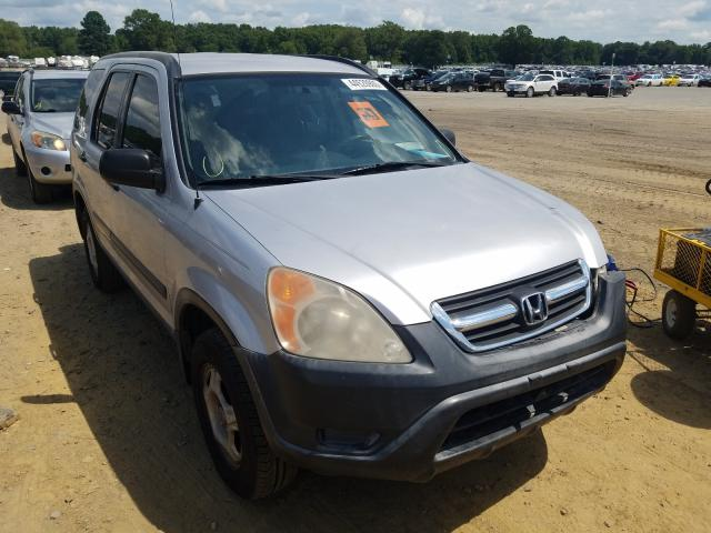 Honda CR-V LX salvage cars for sale: 2002 Honda CR-V LX
