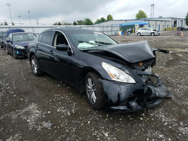 Salvage cars for sale from Copart Finksburg, MD: 2013 Infiniti G37