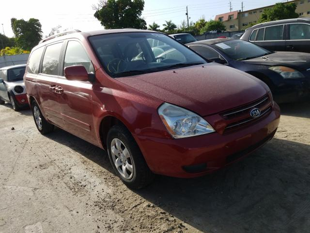 KIA Sedona LX salvage cars for sale: 2010 KIA Sedona LX