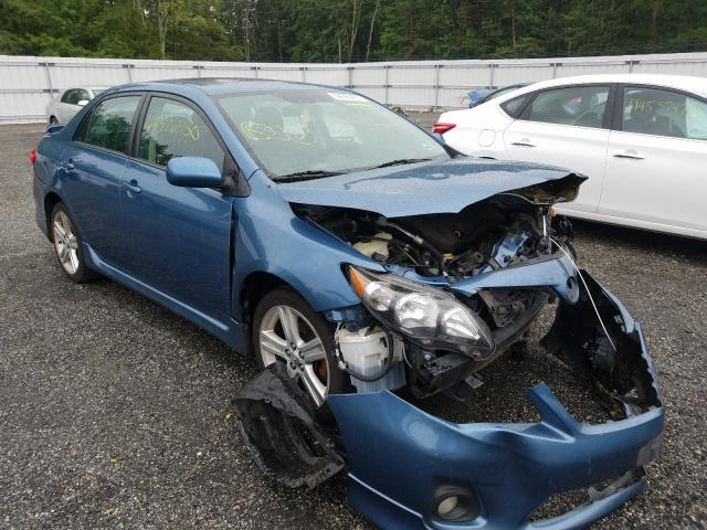 Salvage cars for sale from Copart Fredericksburg, VA: 2013 Toyota Corolla BA