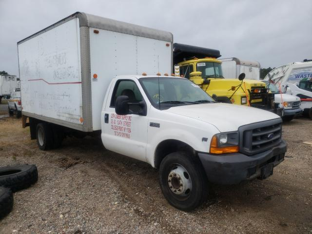 Ford F550 Super salvage cars for sale: 1999 Ford F550 Super