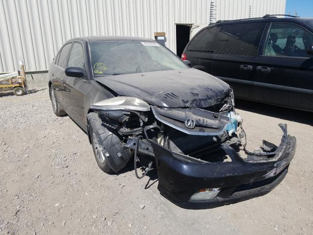Salvage cars for sale from Copart Rocky View County, AB: 2005 Acura 1.7EL Premium