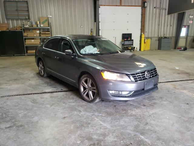 Salvage cars for sale from Copart West Mifflin, PA: 2014 Volkswagen Passat SEL
