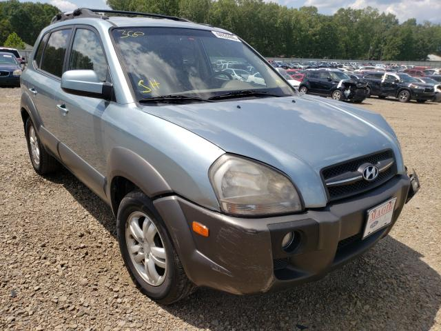 Hyundai Tucson SE salvage cars for sale: 2008 Hyundai Tucson SE