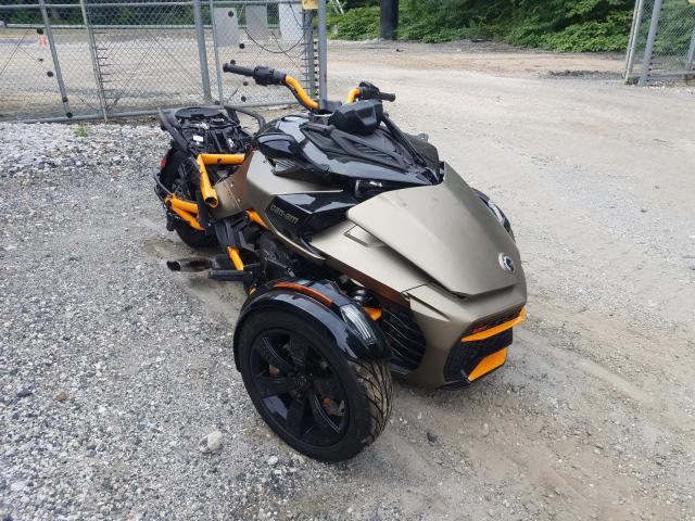 Salvage cars for sale from Copart Finksburg, MD: 2020 Can-Am Spyder ROA