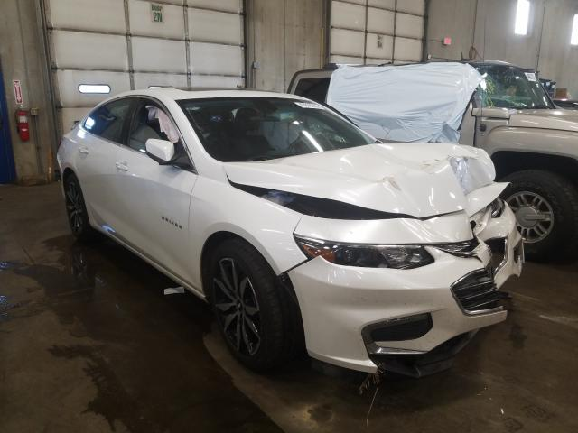 Salvage cars for sale from Copart Blaine, MN: 2016 Chevrolet Malibu LT