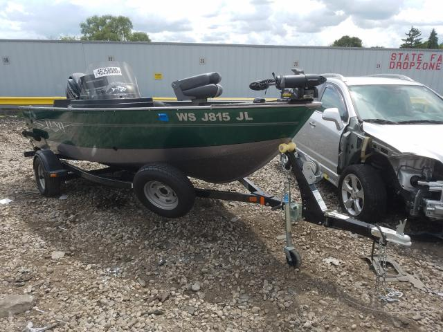 Lund salvage cars for sale: 2015 Lund Boat