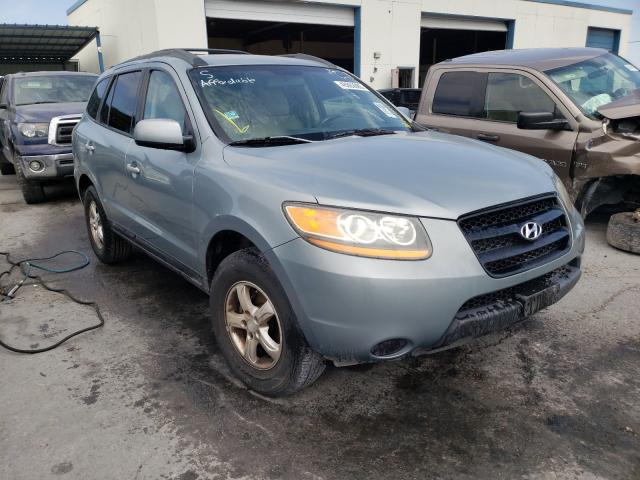 Salvage cars for sale from Copart Anthony, TX: 2008 Hyundai Santa FE G