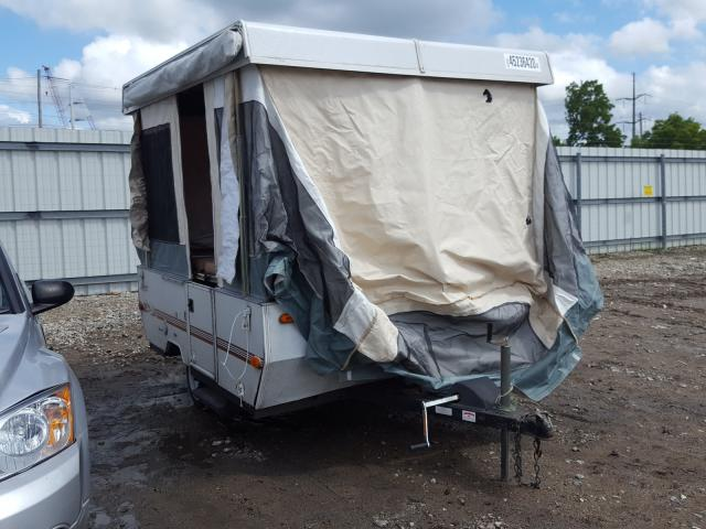 Salvage cars for sale from Copart Lansing, MI: 2000 Jayco Travel Trailer
