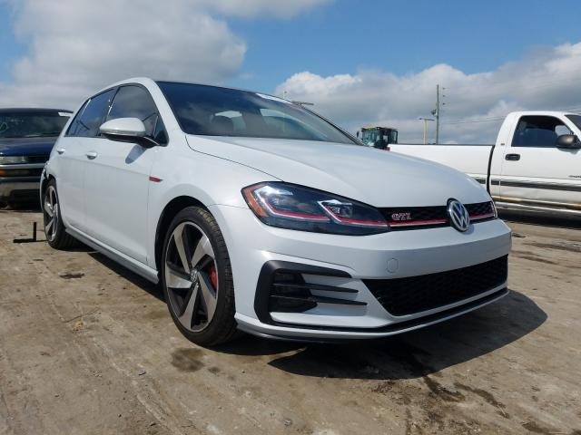 Volkswagen GTI Automatic salvage cars for sale: 2020 Volkswagen GTI Automatic