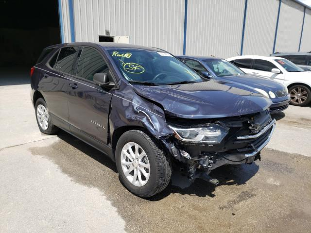 Salvage cars for sale from Copart Apopka, FL: 2018 Chevrolet Equinox LS