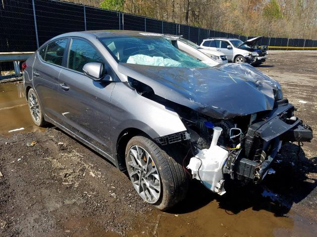 Salvage cars for sale from Copart Waldorf, MD: 2020 Hyundai Elantra SE