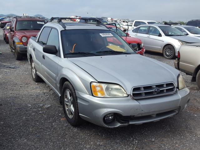 Subaru Baja Sport salvage cars for sale: 2003 Subaru Baja Sport