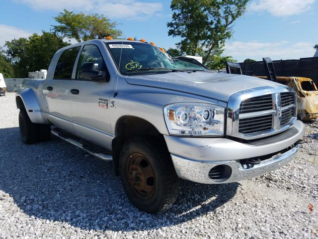 Dodge RAM 3500 salvage cars for sale: 2007 Dodge RAM 3500